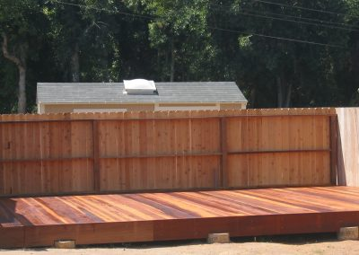 Hogan Redwood Deck